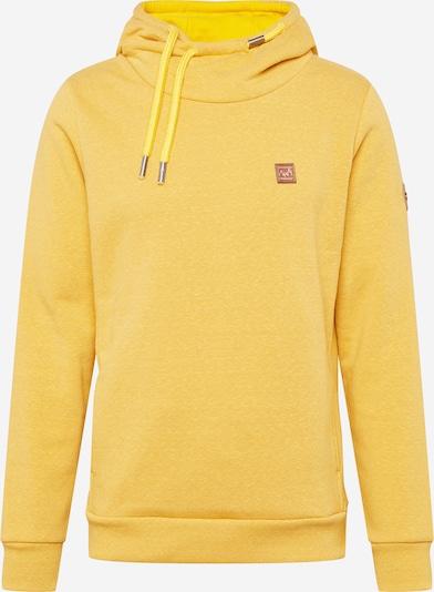 Ragwear Sweatshirt 'BEAT' in gelb, Produktansicht