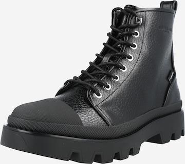 Sneaker înalt 'COLIN' de la Michael Kors pe negru