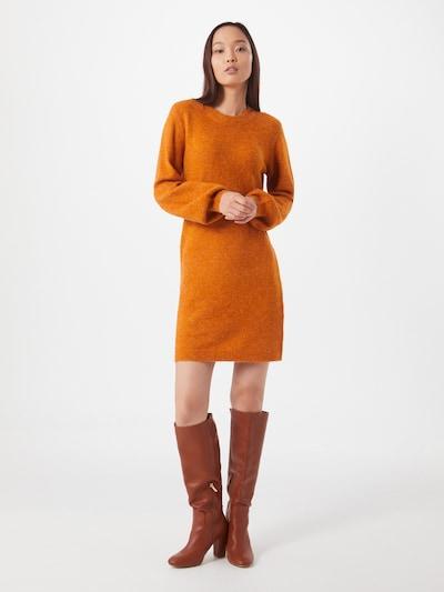OBJECT Kleid 'Eve Nonsia' in orangerot, Modelansicht