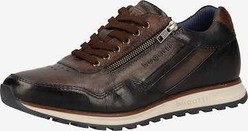 Sneaker bassa di bugatti in marrone