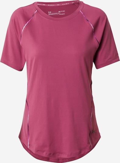 UNDER ARMOUR T-Shirt in dunkelpink / schwarz / weiß, Produktansicht