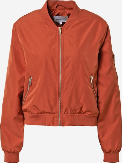 ABOUT YOU Bomberjacke 'Valerie' in orange, Produktansicht