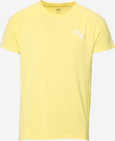 PUMA Toiminnallinen paita värissä keltainen / valkoinen, Tuotenäkymä