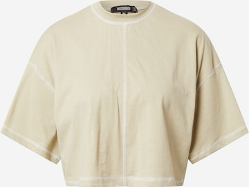 Missguided Shirt in Beige