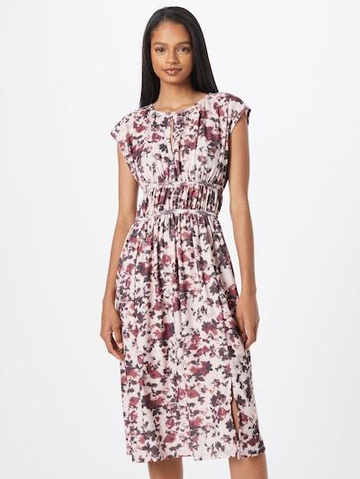 Trendyol Kleid in beige / dunkelgrau / pitaya, Modelansicht