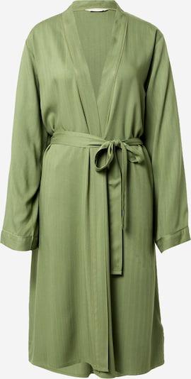 Cyberjammies Ochtendjas 'Natalie Herringbone' in de kleur Groen, Productweergave