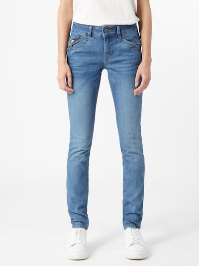 FREEMAN T. PORTER Jeans 'Kaylee' in blue denim, Modelansicht