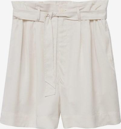 MANGO Pleat-Front Pants in Ecru, Item view