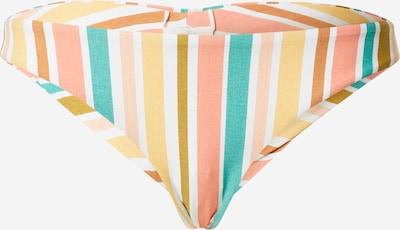 ROXY Bas de bikini en mélange de couleurs / blanc, Vue avec produit
