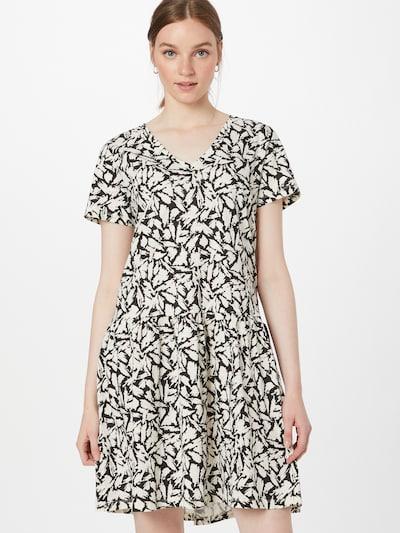 Rochie de vară 'Jodina' Part Two pe negru / alb, Vizualizare model