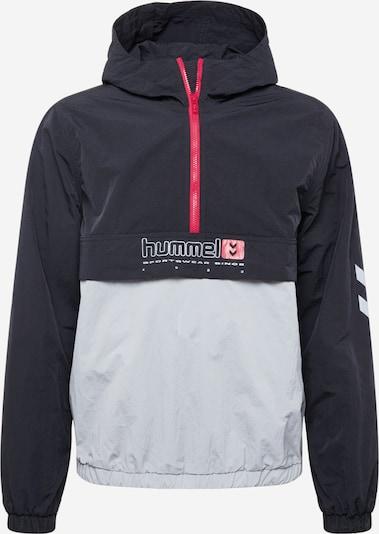 Hummel Sportjas in de kleur Rood / Zwart / Wit, Productweergave