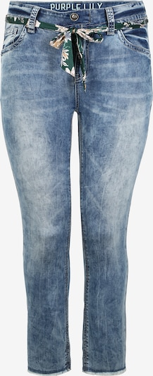 Purple Lily Jeans 'Daisy' A082 in blau / blue denim, Produktansicht