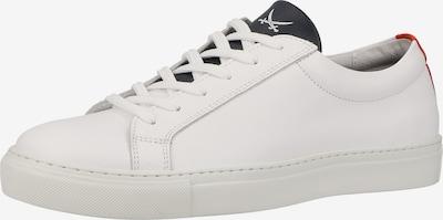 SANSIBAR Sneaker in orangerot / schwarz / weiß, Produktansicht