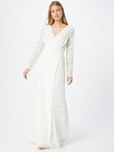 LACE & BEADS Kleid 'Mariah' in weiß, Modelansicht