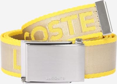 Cintura LACOSTE di colore beige / giallo, Visualizzazione prodotti