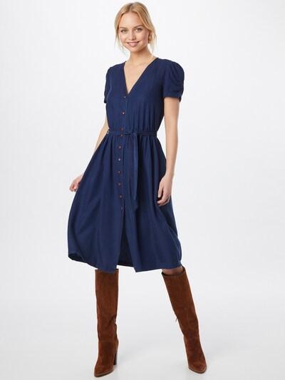 sessun Kleid 'ROSELILI' in indigo, Modelansicht