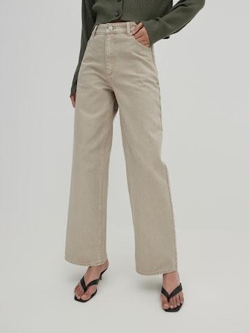 EDITED Jeans 'Elorah' in Beige