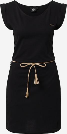 WLD Kleid 'Luna City' in sand / schwarz, Produktansicht