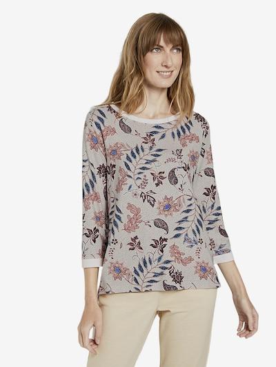 TOM TAILOR Strick & Sweatshirts Sweatshirt mit Blumenmuster in mischfarben, Produktansicht