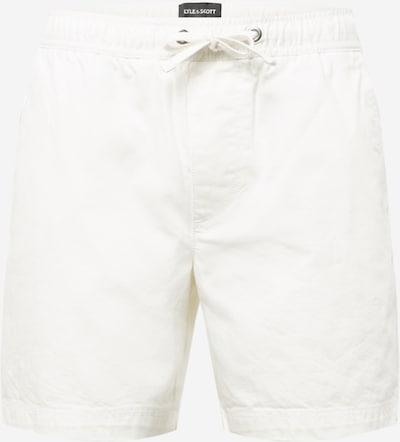 Lyle & Scott Shorts in creme, Produktansicht