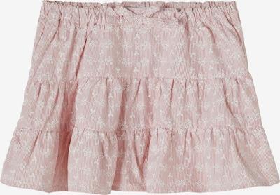 Fustă 'Hetina' NAME IT pe roz deschis / alb, Vizualizare produs