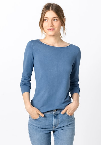 HALLHUBER Pullover in royalblau, Modelansicht