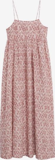 MANGO Kleid in blutrot / weißmeliert, Produktansicht