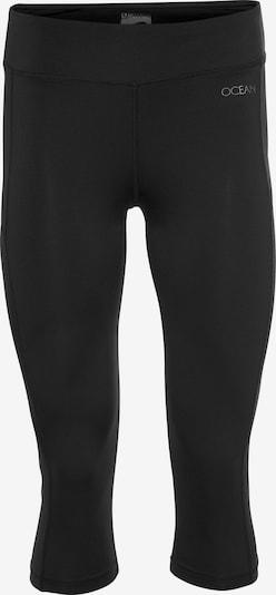 OCEAN SPORTSWEAR Yoja Leggings in schwarz / silber, Produktansicht