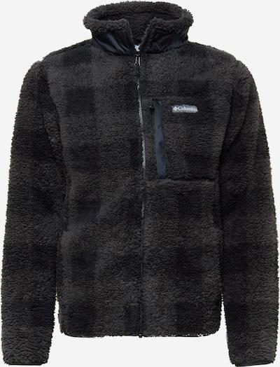 Jachetă  fleece funcțională COLUMBIA pe pământiu / negru / negru amestecat, Vizualizare produs