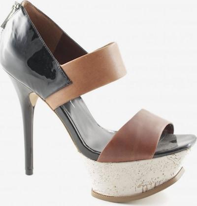 JESSICA SIMPSON High Heels in 37,5 in hellbraun / schwarz, Produktansicht