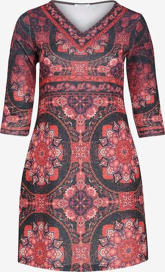 Paprika Kleid in mischfarben, Produktansicht
