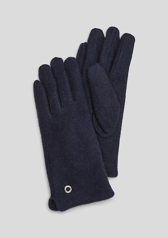 s.Oliver Handschuhe in Blau