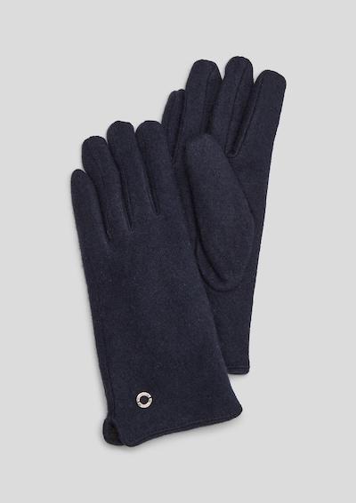 s.Oliver Handschuhe in dunkelblau, Produktansicht