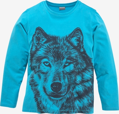 Kidsworld Shirt in Navy / Turquoise, Item view