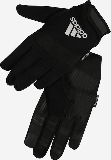 ADIDAS PERFORMANCE Gants de sport 'Full Finger Performance Gloves' en noir, Vue avec produit