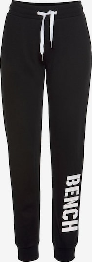 BENCH Broek in de kleur Zwart / Wit, Productweergave