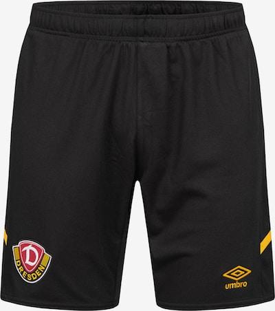 UMBRO Hose in gelb / schwarz, Produktansicht