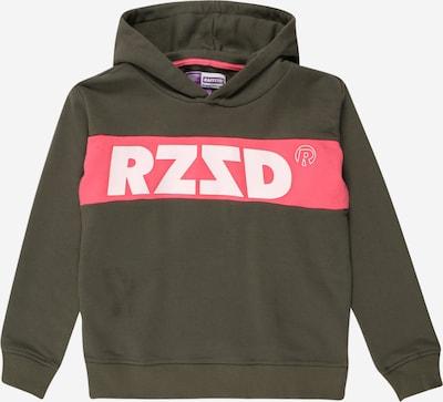 Raizzed Sweater majica 'Riga' u kaki / crvena / bijela, Pregled proizvoda