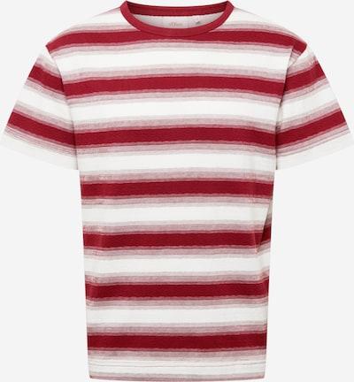 s.Oliver Shirt in bordeaux / weiß, Produktansicht