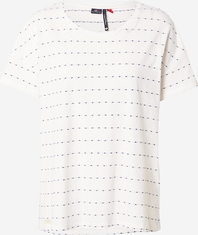 Ragwear T-Shirt 'CELEB' in navy / weiß, Produktansicht