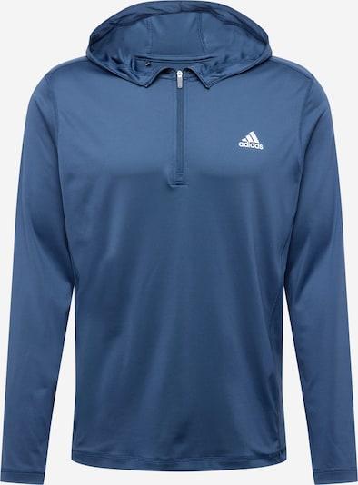adidas Golf Sweat de sport 'NOVELTY' en bleu marine / blanc, Vue avec produit