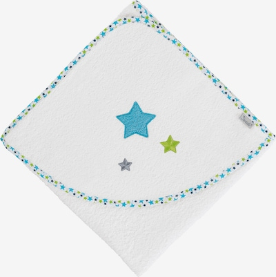 STERNTALER Handtuch in türkis / weiß, Produktansicht