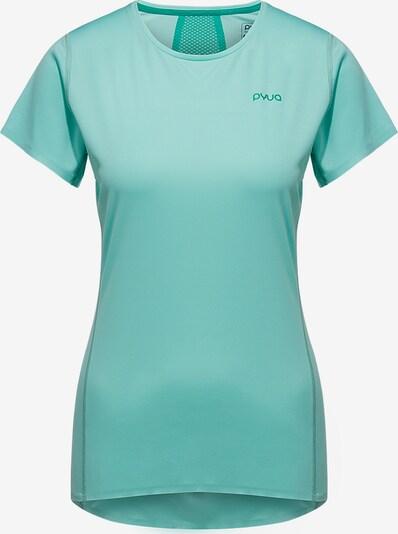 PYUA T-shirt fonctionnel en turquoise, Vue avec produit