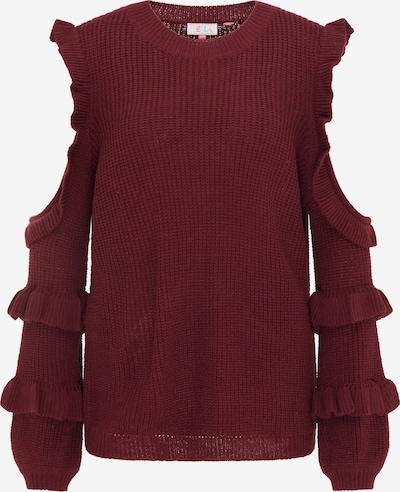 IZIA Jersey en rojo oscuro, Vista del producto