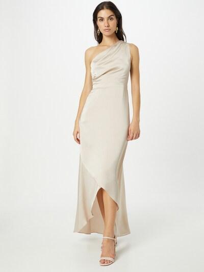 Rochie de seară 'DELALI' TFNC pe crem, Vizualizare model