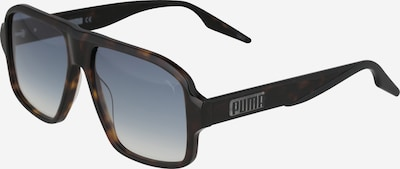 PUMA Sonnenbrille in blau / braun, Produktansicht
