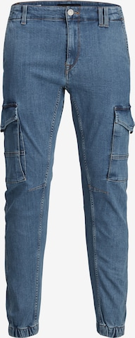 JACK & JONES Cargo jeans 'Paul' in Blue