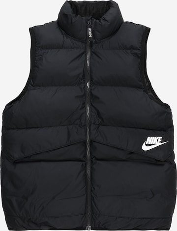 Vestă de la Nike Sportswear pe negru
