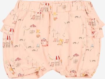 NAME IT Trousers 'HELGA BLOOMER' in Pink