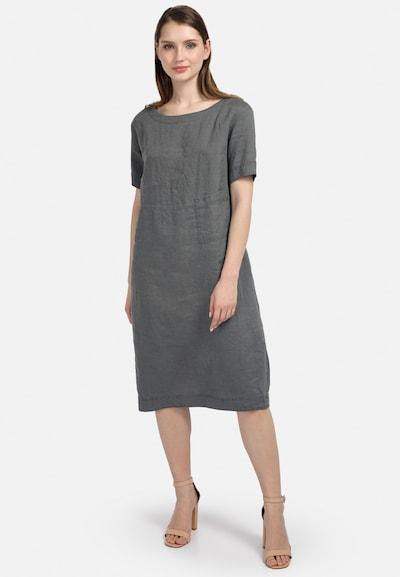 HELMIDGE Etuikleid in khaki, Modelansicht